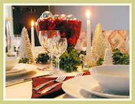 Как накрыть красивый стол на новый год